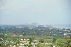 Daytona海滩风景 免版税库存照片