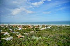 Daytona海滩风景 免版税库存图片