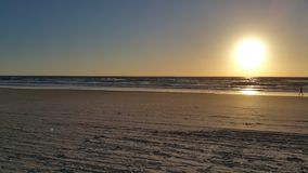 Daytona海滩在早晨之前 免版税库存图片
