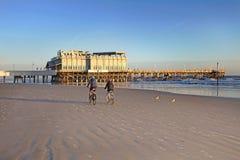 Daytona海滩,佛罗里达,美国地平线 库存图片