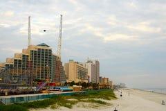 使daytona佛罗里达靠岸 免版税库存图片