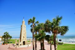 Daytona Beach στη Φλώριδα στοκ εικόνες με δικαίωμα ελεύθερης χρήσης