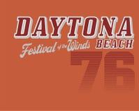 Daytona beach royalty free illustration