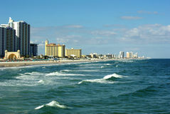 Daytona Beach. Typical winter in Daytona Beach, Florida, USA Stock Photos