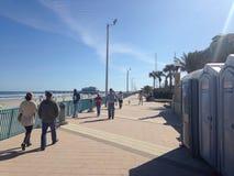 Daytona Beach Boarwalk Royalty Free Stock Photo