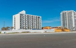 Daytona Beach and buildings, Florida Stock Photo