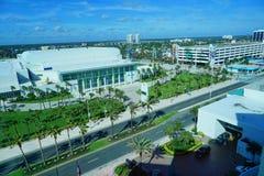 Daytona Beach landscape royalty free stock image