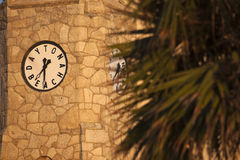 Daytona Beach clock tower Royalty Free Stock Image