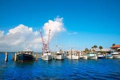 Daytona Beach em Florida do porto E.U. alaranjados Foto de Stock Royalty Free