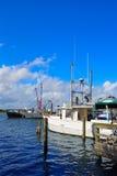 Daytona Beach em Florida do porto E.U. alaranjados Foto de Stock