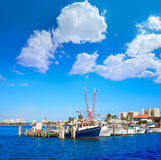 Daytona Beach en Floride du port USA oranges Image libre de droits