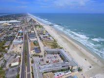 Daytona Beach FL aerial image Stock Photo