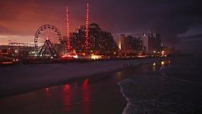 Daytona Beach Florida stock footage