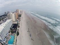 Daytona Beach Florida aerial Royalty Free Stock Image