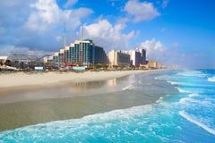 Daytona Beach in Florida coastline USA Stock Photography