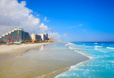 Daytona Beach in Florida coastline USA Royalty Free Stock Images