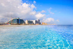 Daytona Beach in Florida coastline USA Stock Images
