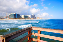Daytona Beach in Florida coastline USA Royalty Free Stock Image