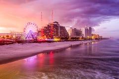 Daytona Beach Florida horisont Royaltyfria Foton