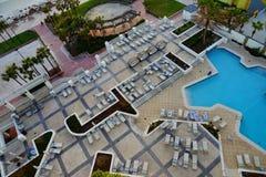 Daytona Beach in Florida. Daytona Beach landscape: ocean view hotel, Florida, USA Royalty Free Stock Image