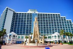 Daytona Beach in Florida royalty free stock image