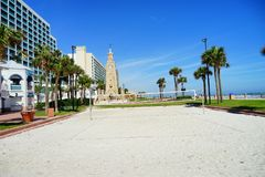 Daytona Beach in Florida stock photo