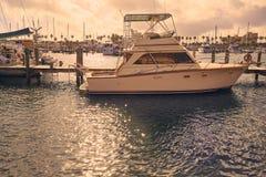 Daytona Beach in Florida marina boats USA Royalty Free Stock Images