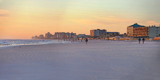 Daytona Beach, Florida, orizzonte di U.S.A. Immagine Stock
