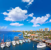 Daytona Beach in Florida from Port Orange US Royalty Free Stock Photos