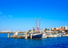 Daytona Beach in Florida from Port Orange US Stock Image