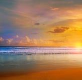 Daytona Beach in Florida shore USA Royalty Free Stock Photo