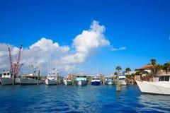 Daytona Beach in Florida vom Hafen orange US Lizenzfreie Stockbilder