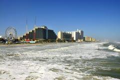 Daytona Beach, hôtels de la Floride Photo stock