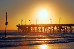 Daytona Beach, horizon de la Floride, Etats-Unis image libre de droits