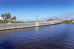 Daytona Beach, horizonte de la Florida, los E.E.U.U. Foto de archivo libre de regalías
