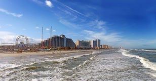 Daytona Beach, horizonte de la Florida, los E.E.U.U. Imagenes de archivo
