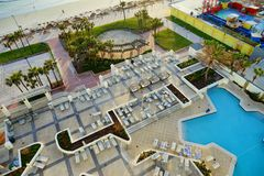 Daytona Beach landskap Royaltyfri Foto
