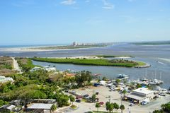 Daytona Beach landskap Royaltyfri Fotografi