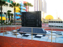 Daytona Beach  monument winners 500 Stock Images