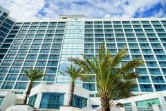 Daytona Beach oceanview hotel Stock Images
