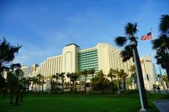 Daytona Beach oceanview hotel Royalty Free Stock Photography