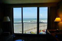 Daytona Beach oceanview hotel Royalty Free Stock Photos