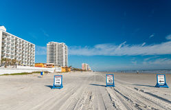 Daytona Beach road signs, Florida Stock Image
