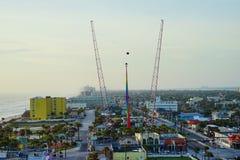 Daytona Beach stadssikt Royaltyfri Foto