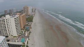Daytona- Beachantenne stock footage