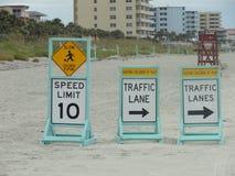 Daytona- Beachzeichen Lizenzfreie Stockfotografie