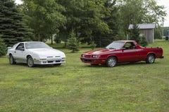 Daytona di Dodge e furia di espediente immagini stock libere da diritti
