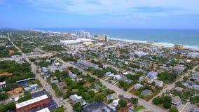 Daytona Florida antennlängd i fot räknat stock video
