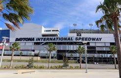 Daytona landskampspeedway fotografering för bildbyråer