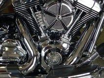 DAYTONA plaża, FL, usa - MARZEC 06, 2011: Zakończenie silnik Harley-Davidson motocykl Zdjęcie Stock